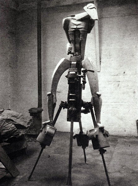 Rock Drill, the original sculpture by Jacob Epstein
