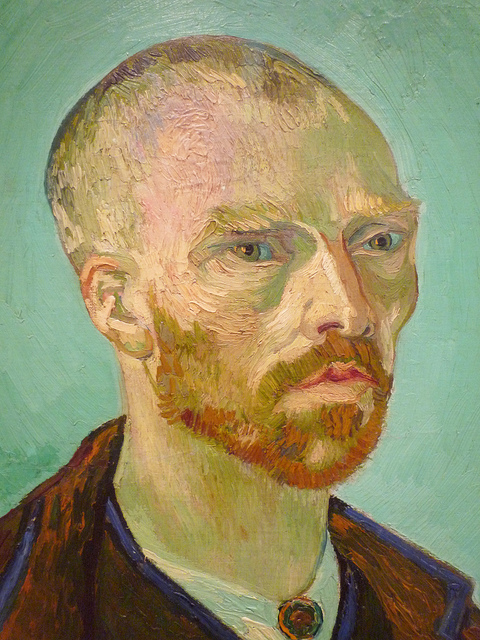Self-Portrait by Vincent Van Gogh,I do not own any rights